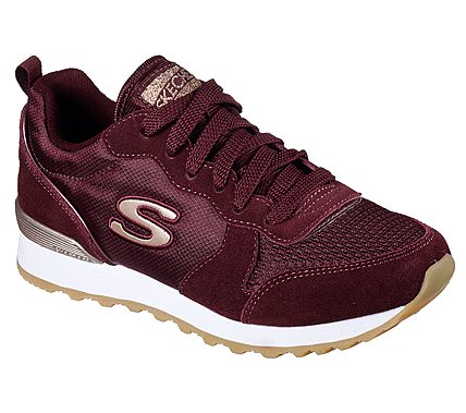 Sneakers SKECHERS - Goldn Gurl 111/BURG Burgundy CHZ2P
