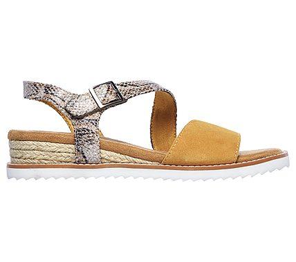 Buy SKECHERS BOBS Desert Kiss Tiger's Eye Bobs Shoes