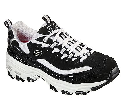 Skechers D Lites Biggest Fan Ladies Shoes