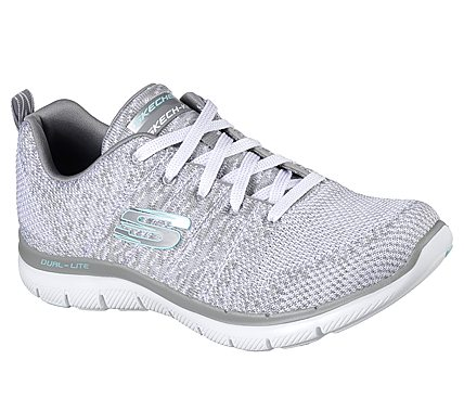 NEW SKECHERS WOMENS FLEX APPEAL 2.0 HIGH ENERGY TRAINING SHOE