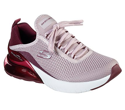 SKECHERS – Sneaker 'D'Lites' aus Leder und Mesh – Apricot
