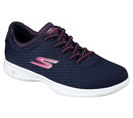Women's Skechers 14500/NVPK Go Step Lite- Dashing Navy/Pink