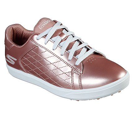 Details about Skechers Womens GO Golf Drive Shimmer Golf Shoes 14882 WSL WhiteSilver New