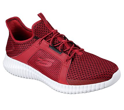 red skechers mens