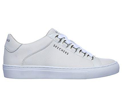 Aplauso|Skechers 73532 Sneaker Street Piel Blanco