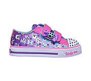 Skechers girls twinkle toes: shuffles princess paws 10918