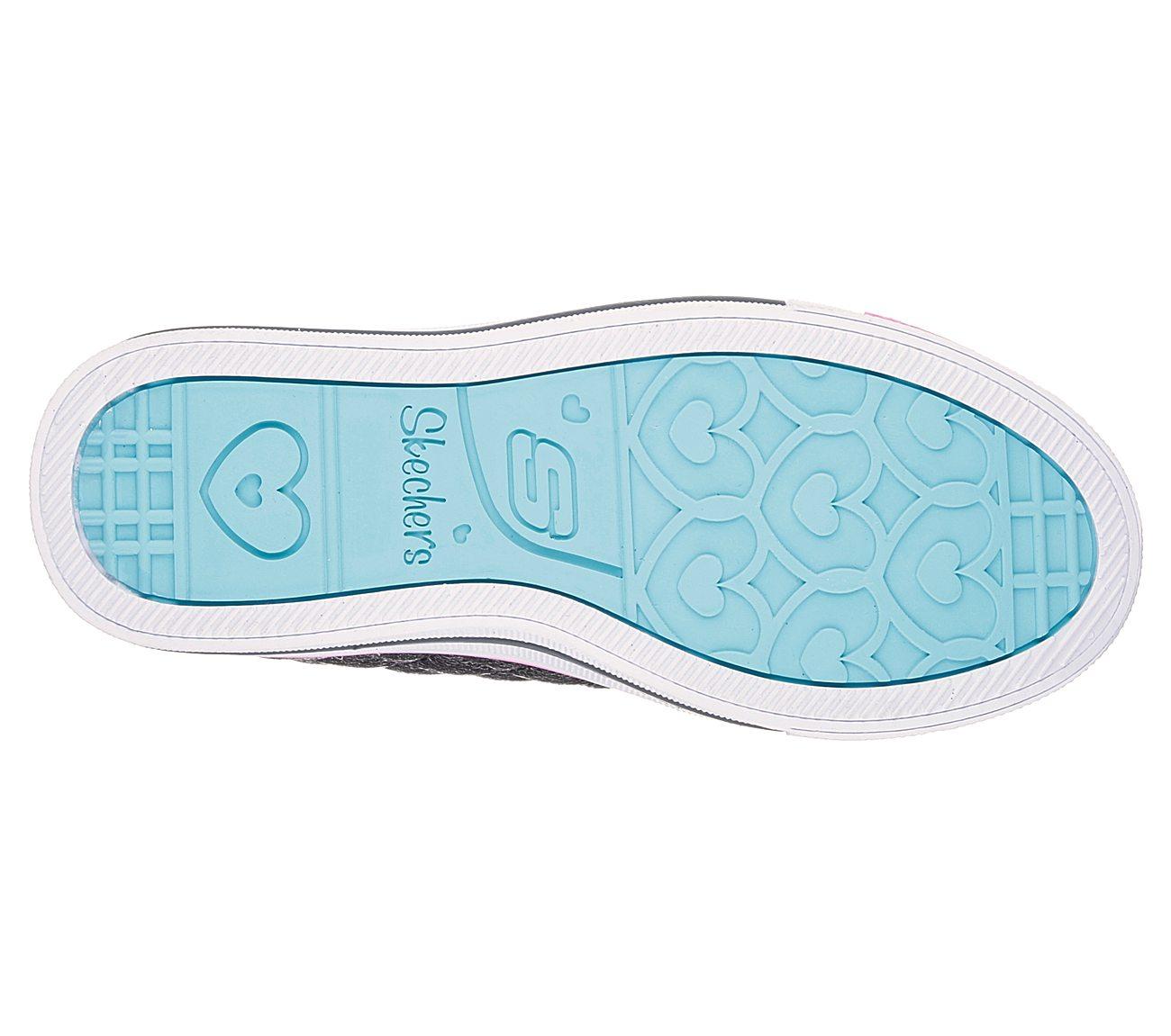 Buy SKECHERS Twinkle Toes  Shuffles - Sweetheart Sole SKECHERS S ... 035e77ec92a