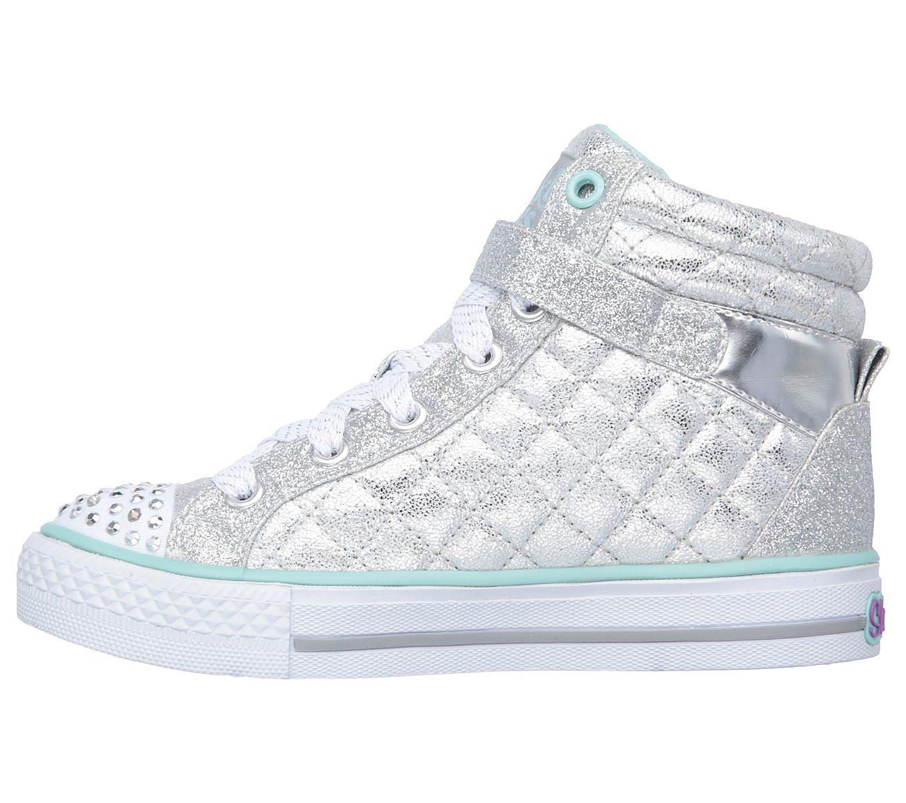 Buy SKECHERS Twinkle Toes  Shuffles - Sweetheart Sole S-Lights Shoes ... ab3daab56d0