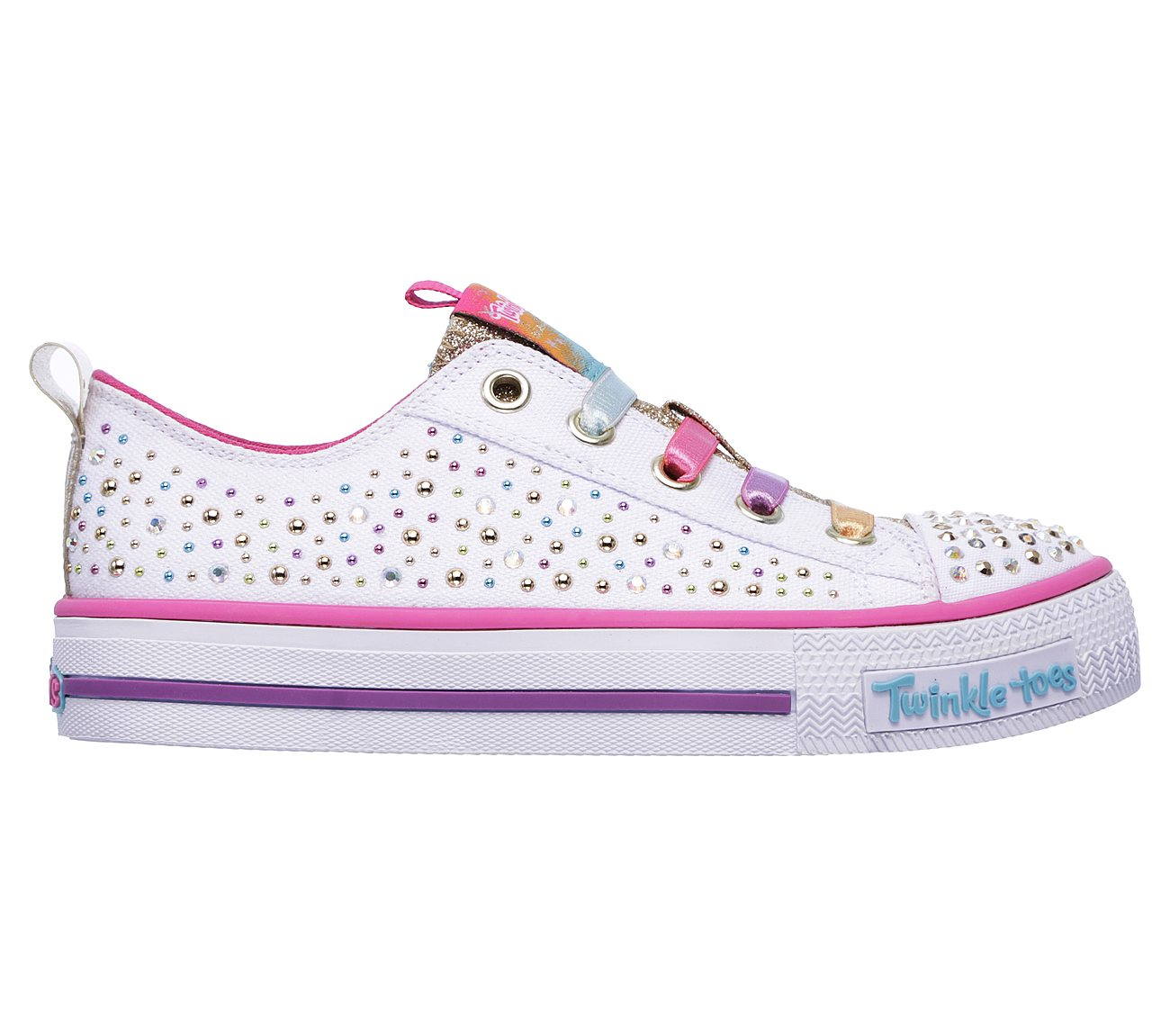 skechers twinkle toes on off button