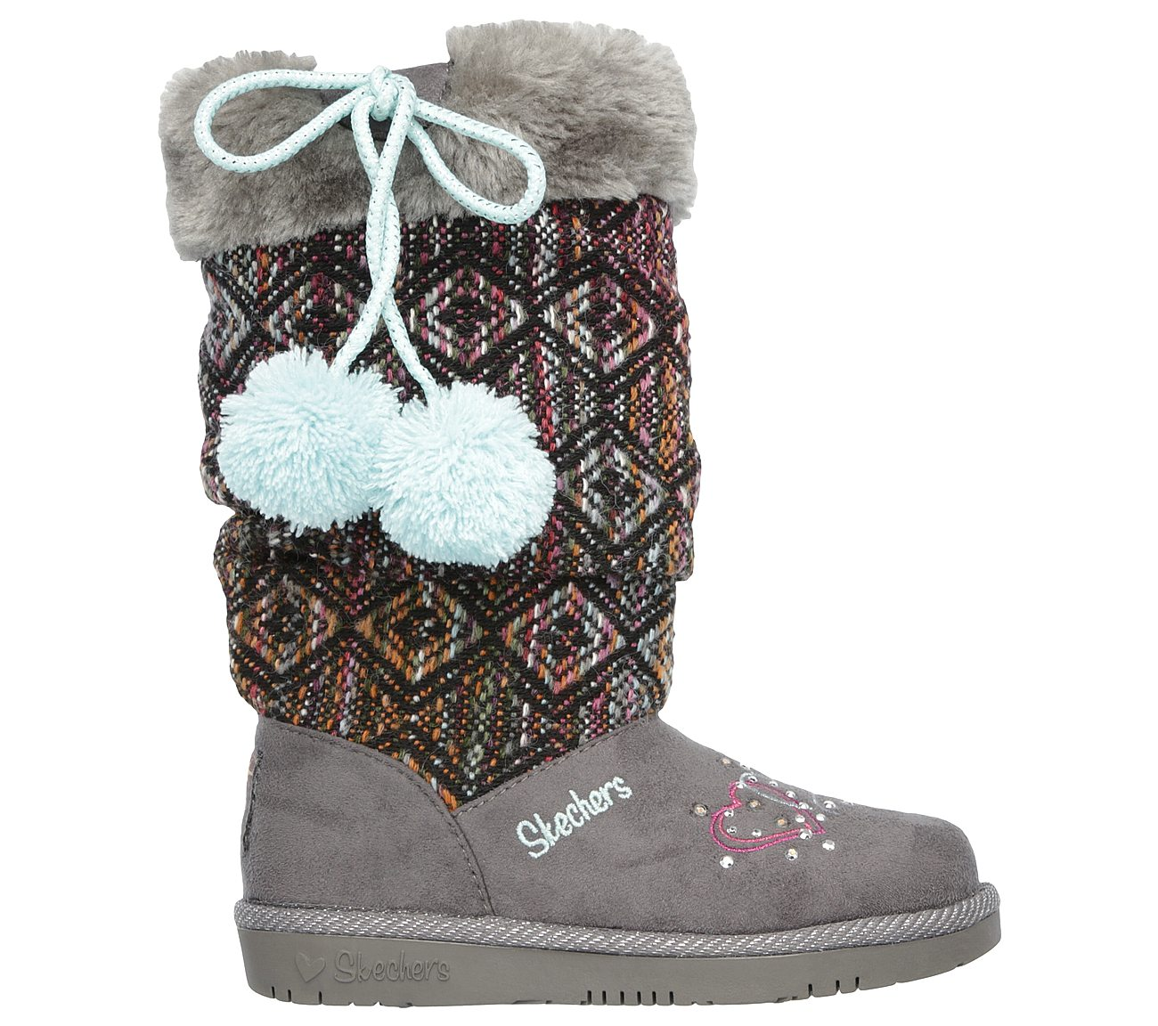 Glamslam Lil Lovelies Boots Girls Light Up Shoes 10643L Skechers Twinkle Toes