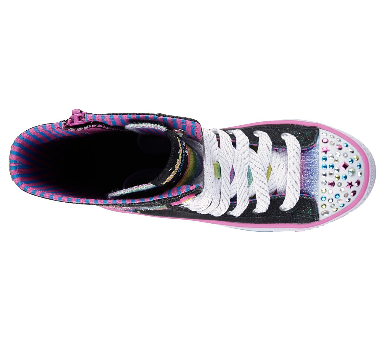 198267202ab3d Buy SKECHERS Twinkle Toes  Shuffles - Flutter Fun S-Lights Shoes ...