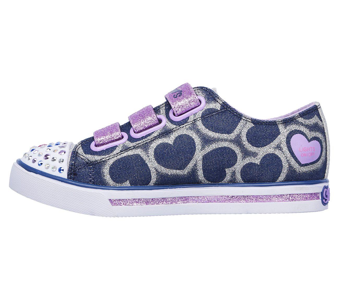 Twinkle Toes: Shuffles Glitter Heart