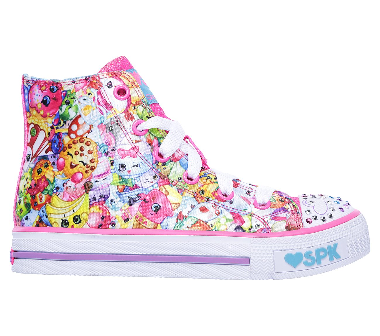 ce9171d92b6b Buy SKECHERS Shopkins  Shuffles - Kooky Cookie Exclusives Shoes only ...