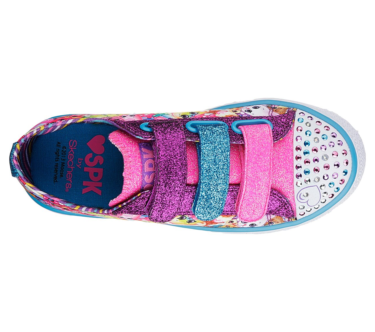 692fdb9faf19 Buy SKECHERS Shopkins  Shuffles - Rainbow Bite Exclusives Shoes only ...