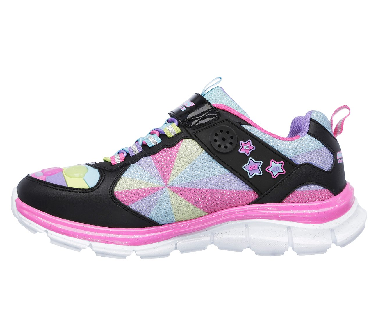 Skechers Juicy Smash Game Kicks 2 BlackMulti Kids Girls Sneakers Size 3 | eBay