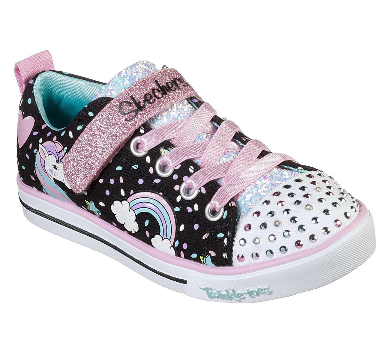 9a4e9a659243 Buy SKECHERS Twinkle Toes: Shuffles - Sparkle Lite S-Lights Shoes only  $42.00