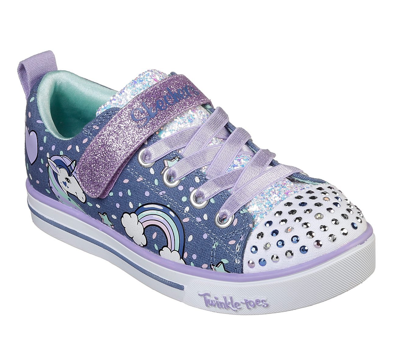 a95ff69ad3d8 Buy SKECHERS Twinkle Toes  Shuffles - Sparkle Lite S-Lights Shoes only   42.00