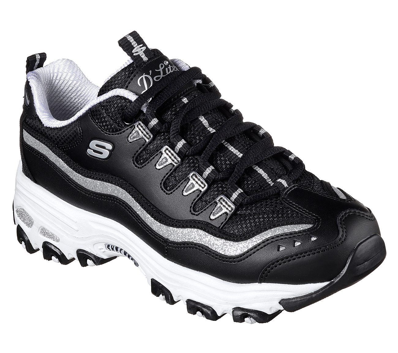 2787fd18358a Buy SKECHERS D Lites - Now and Then Skechers D Lites Shoes only £64.00