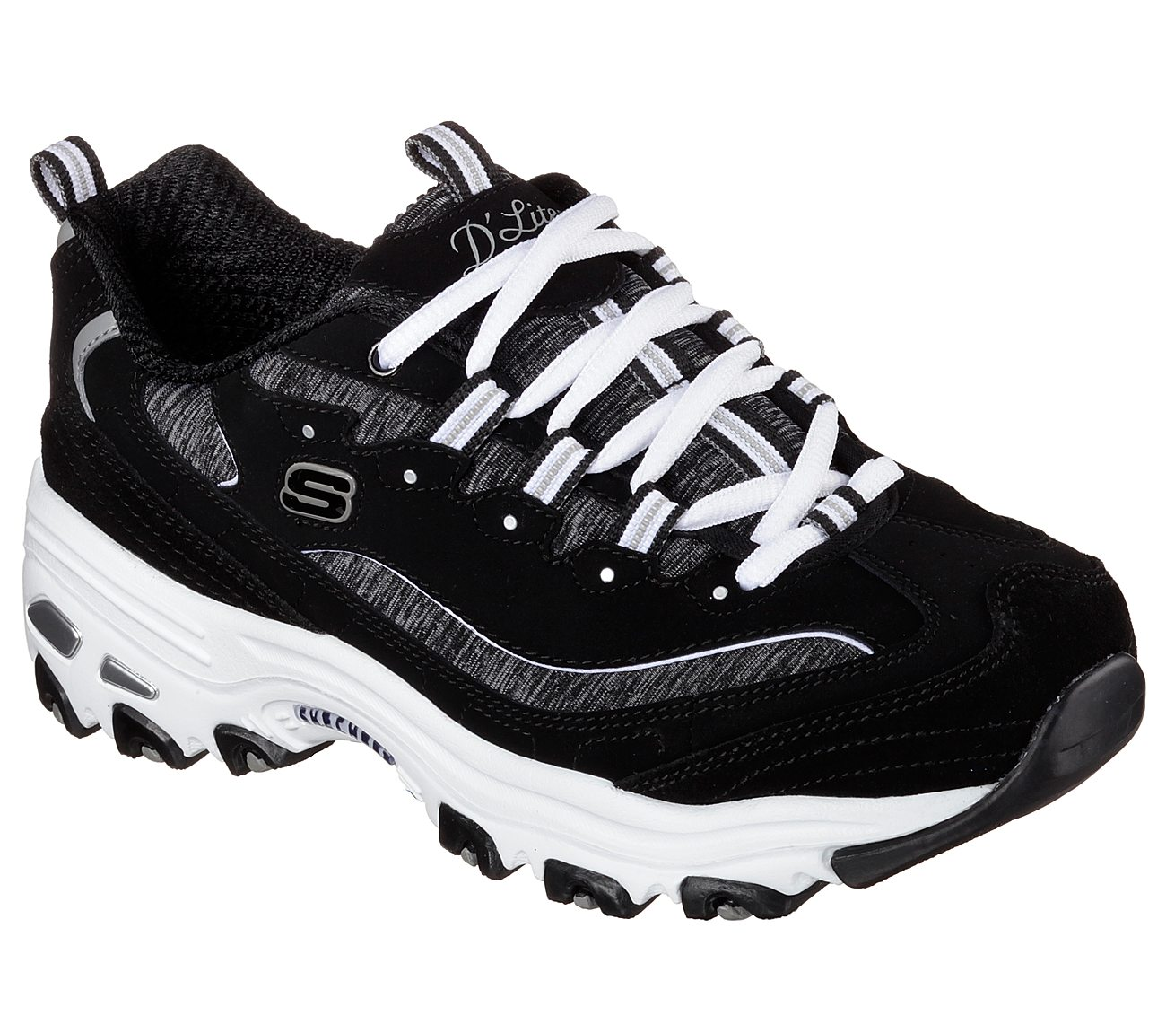 skechers d'lites animal print
