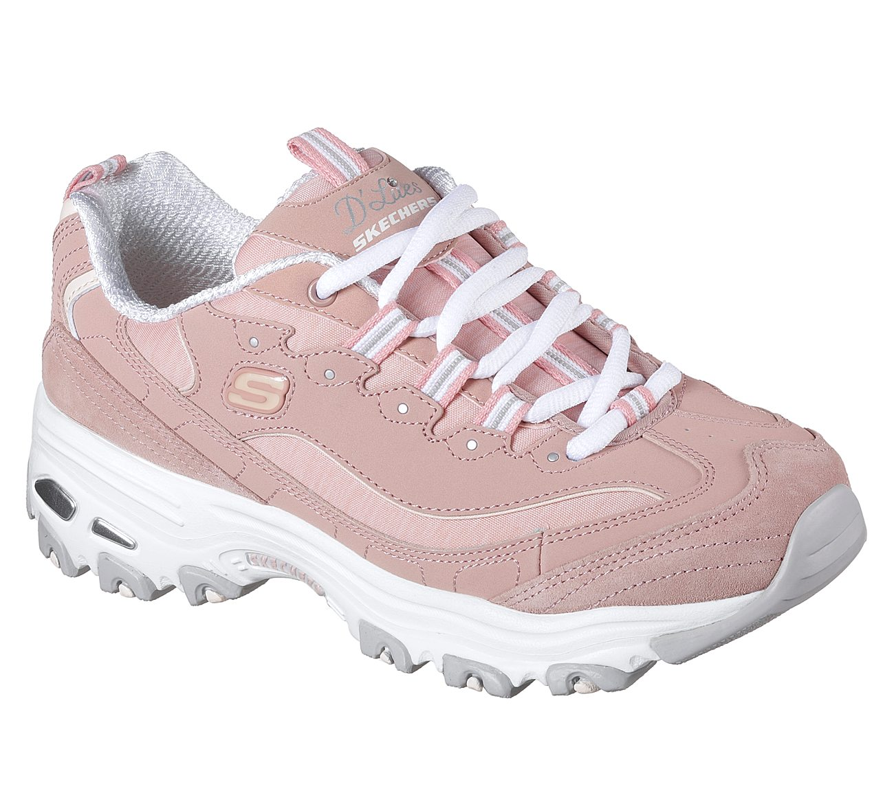 Womens Skechers D'Lites Me Time Athletic Sneakers