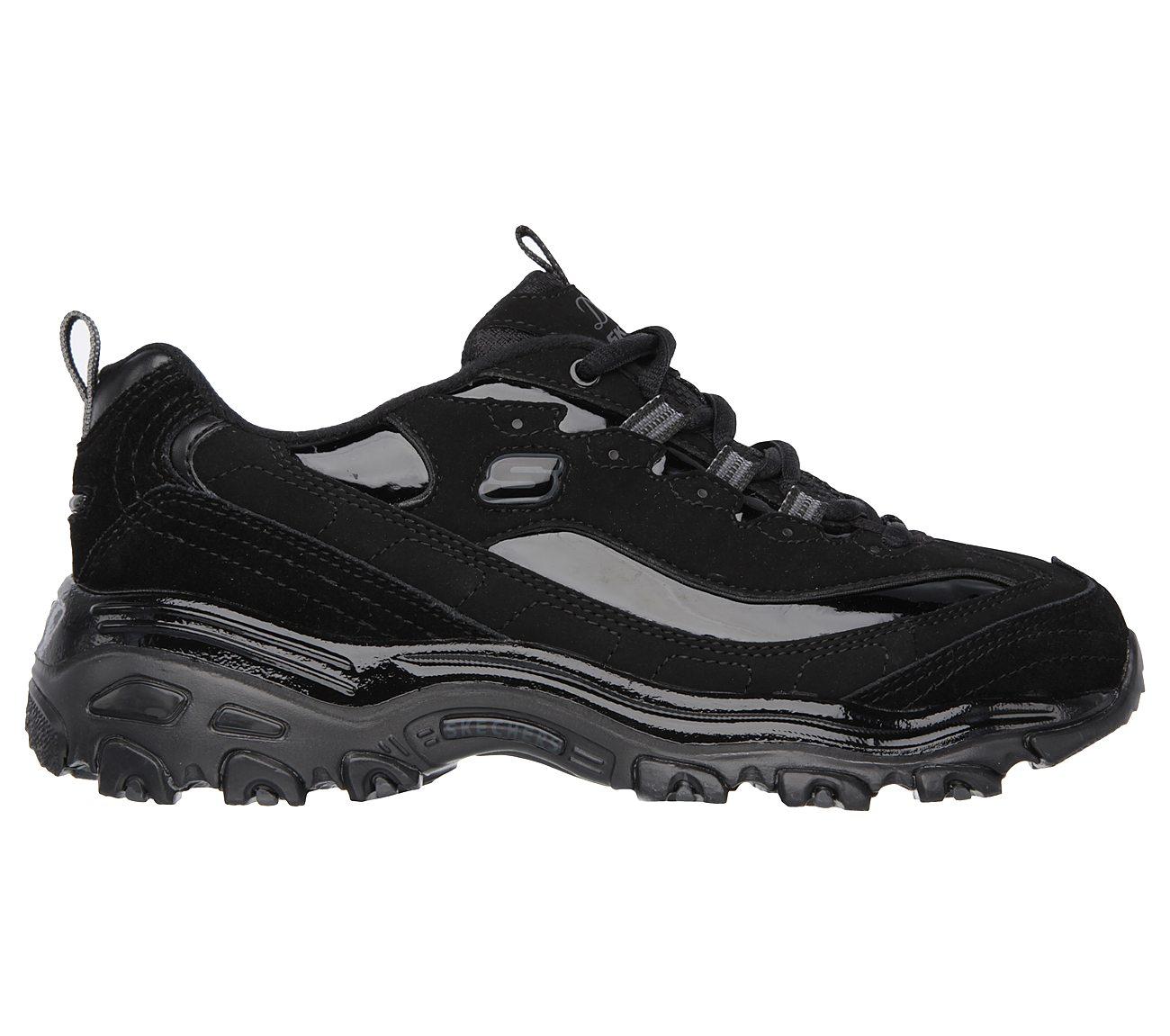 Womens Skechers D'Lites Athletic Sneakers Wide