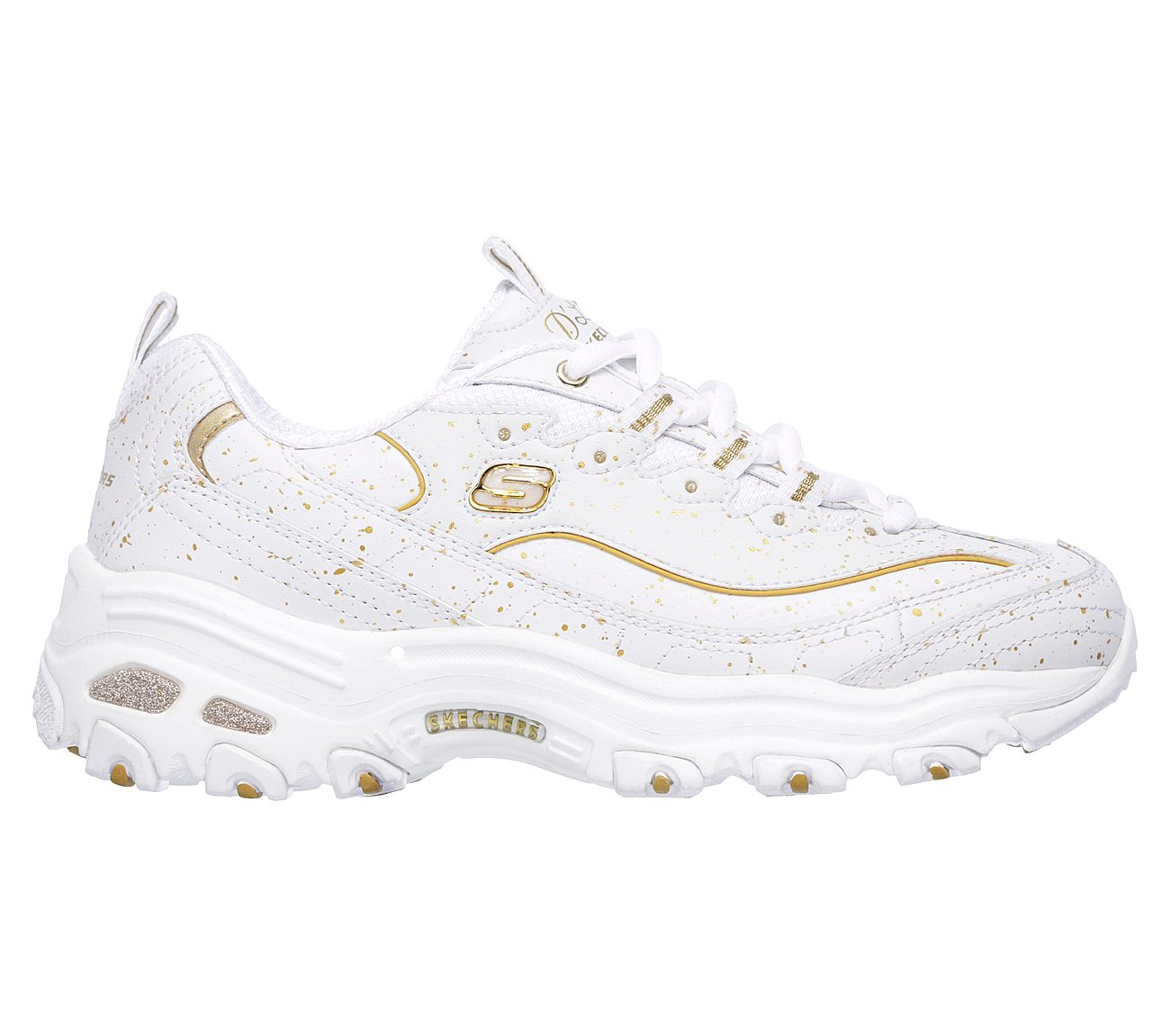 f56165dabf1 Buy SKECHERS D Lites - Strike Gold D Lites Shoes only  70.00