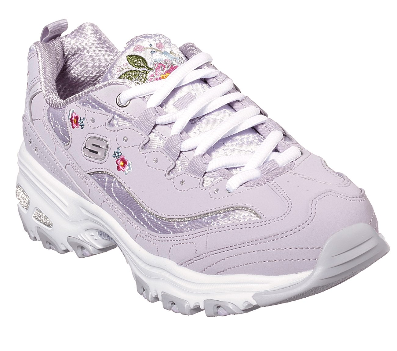 9dedc09be30c Buy SKECHERS D Lites - Bright Blossoms Skechers D Lites Shoes only ...