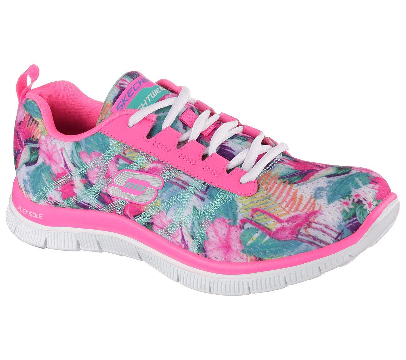 5f16eebb52bf Buy SKECHERS Flex Appeal - Floral Bloom Flex Appeal Shoes only  40.00