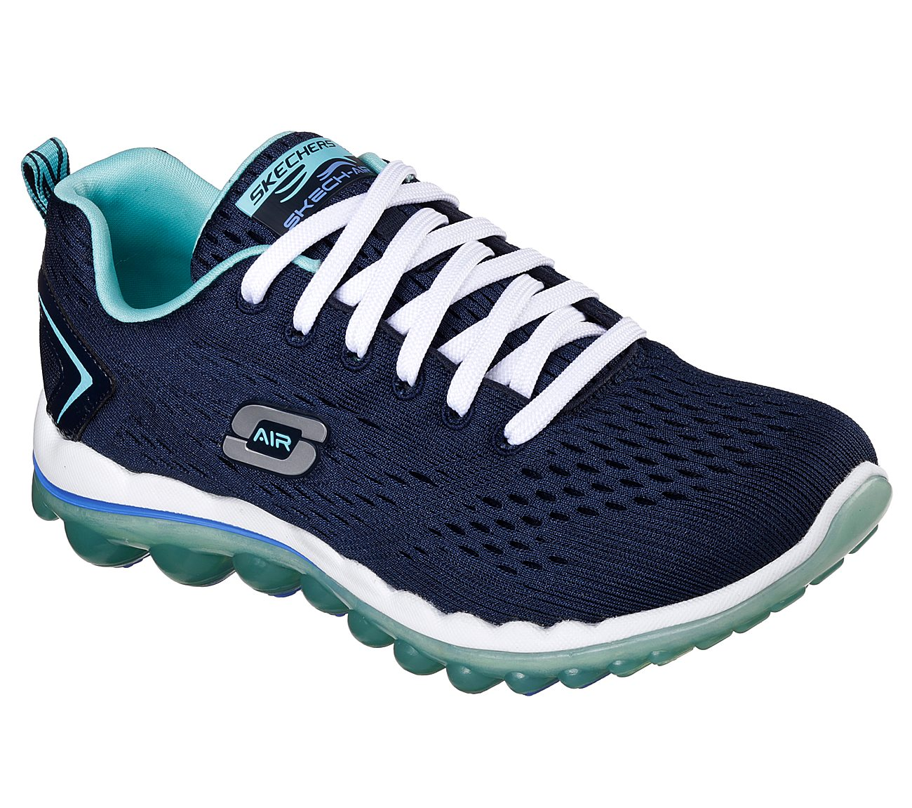 **Skechers Skech-Air 2.0 Athletic Shoes - Women's Size 8 Navy