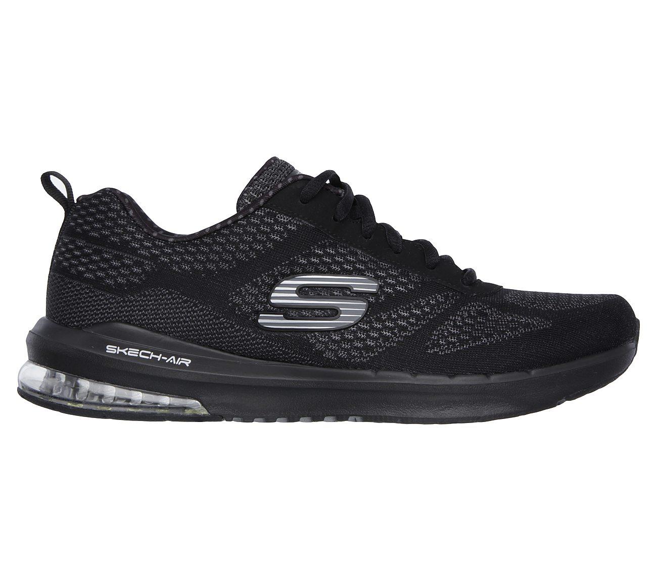Skechers SKECH AIR INFINITY Black Shoes Low top trainers Women 6yRrlGd8