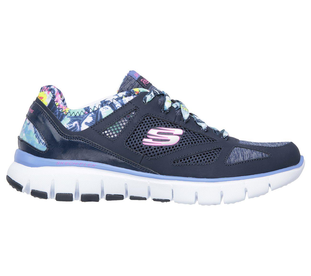 Skech-Flex- Navy sneakers