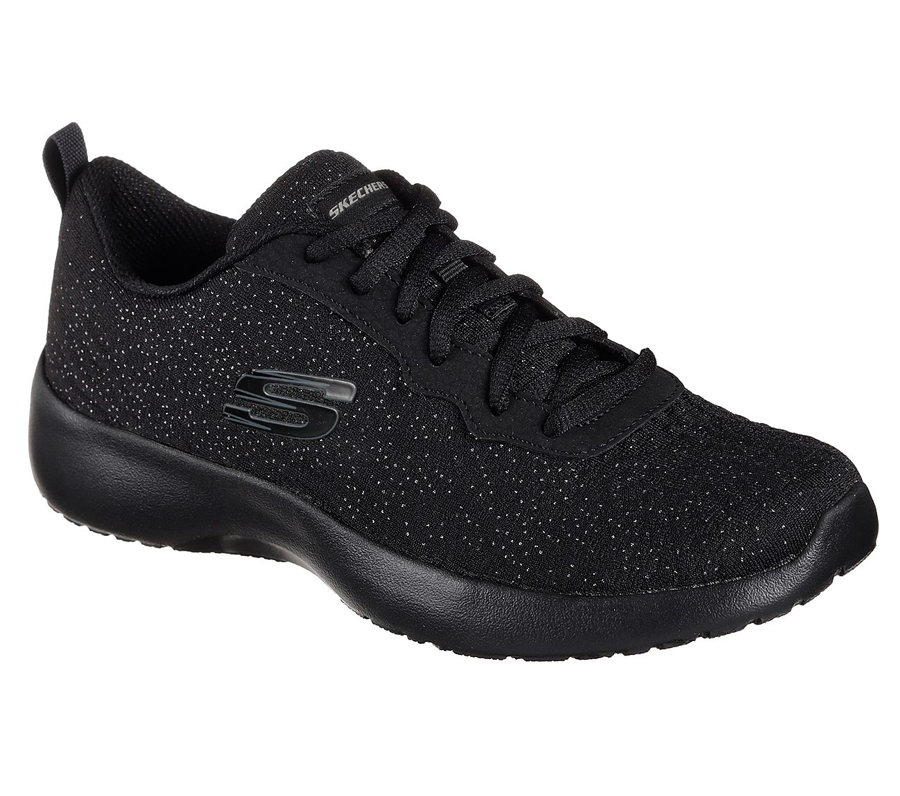 72c87e0c1ec64 Buy SKECHERS SPARLKLE KNIT MESH LACE-UP Sport Shoes only 50
