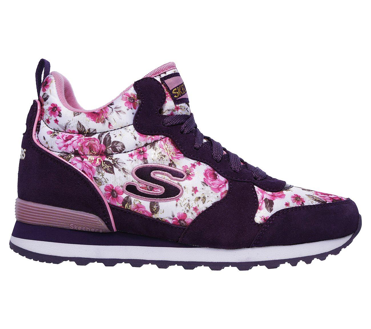 Skechers Shoes  Skechers Originals OG85 Womens Sports Shoes GreyPink