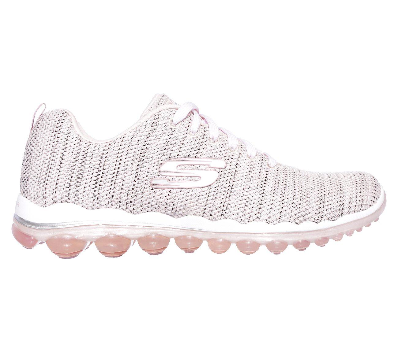 skechers women's skech air shoes in white