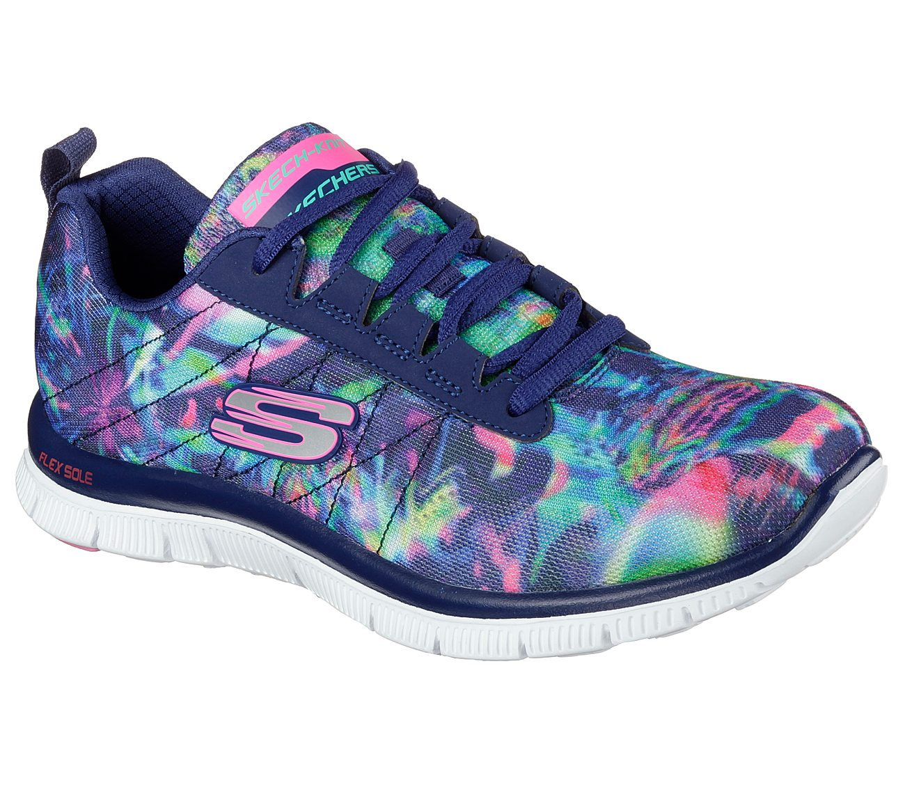 40972fbe3091 Buy SKECHERS Flex Appeal - Cosmic Rays Sport Shoes only  75.00