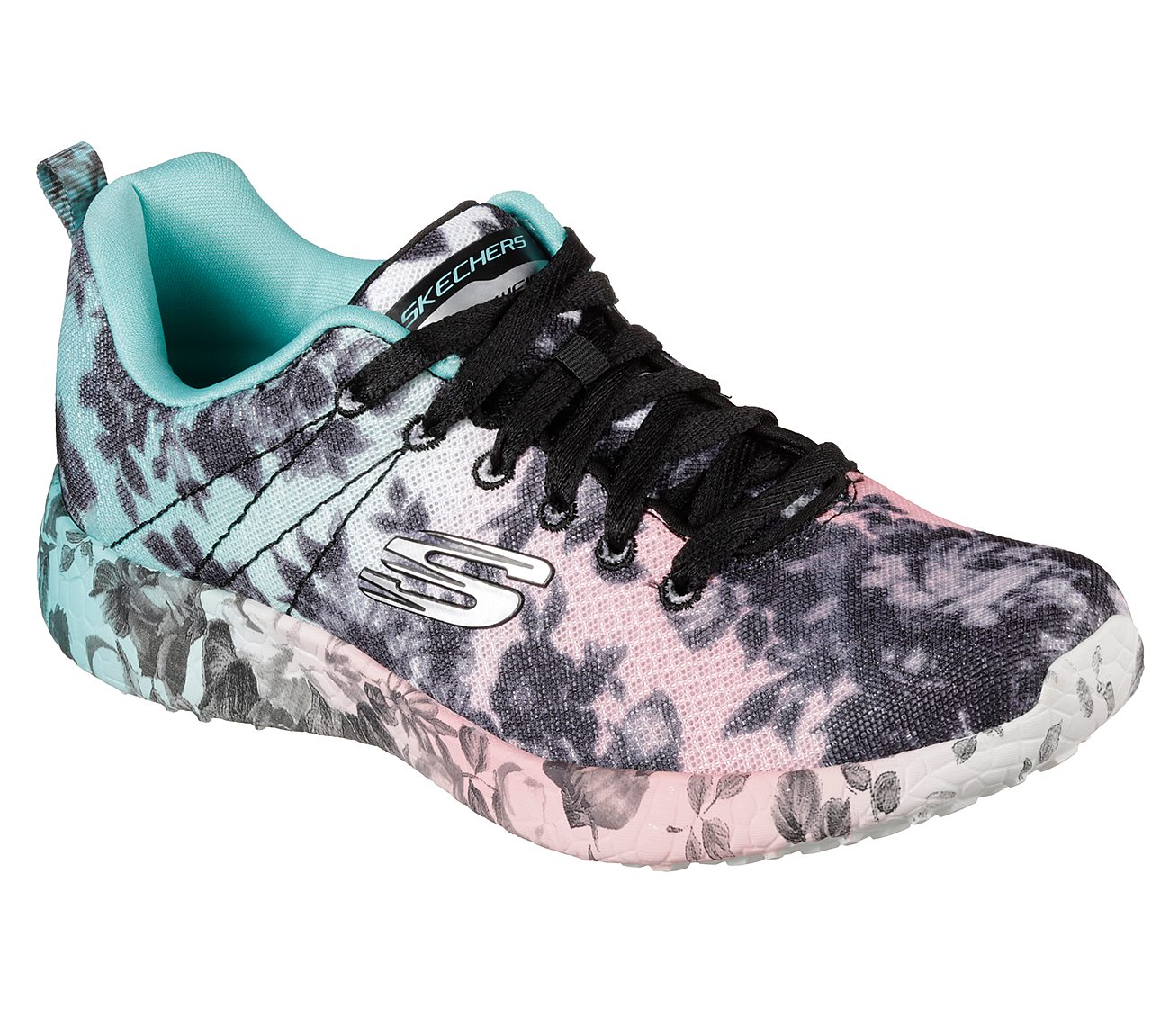 4581a48800d7 Buy SKECHERS Burst - Wild Rose Athletic Sneakers Shoes only  46.00