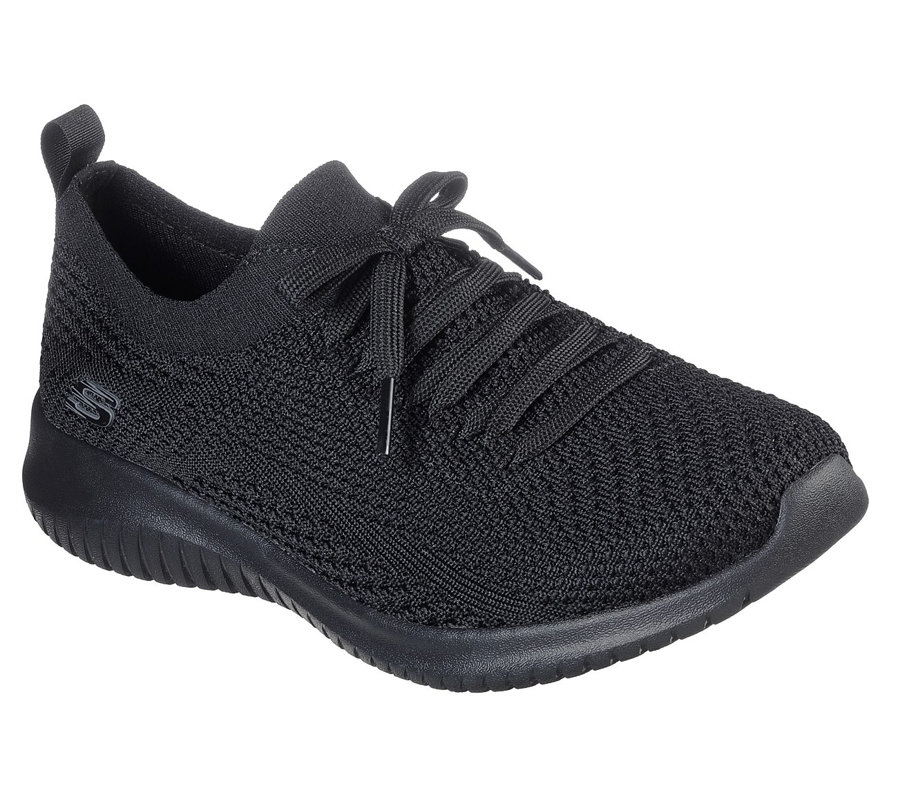 skechers skech knit black