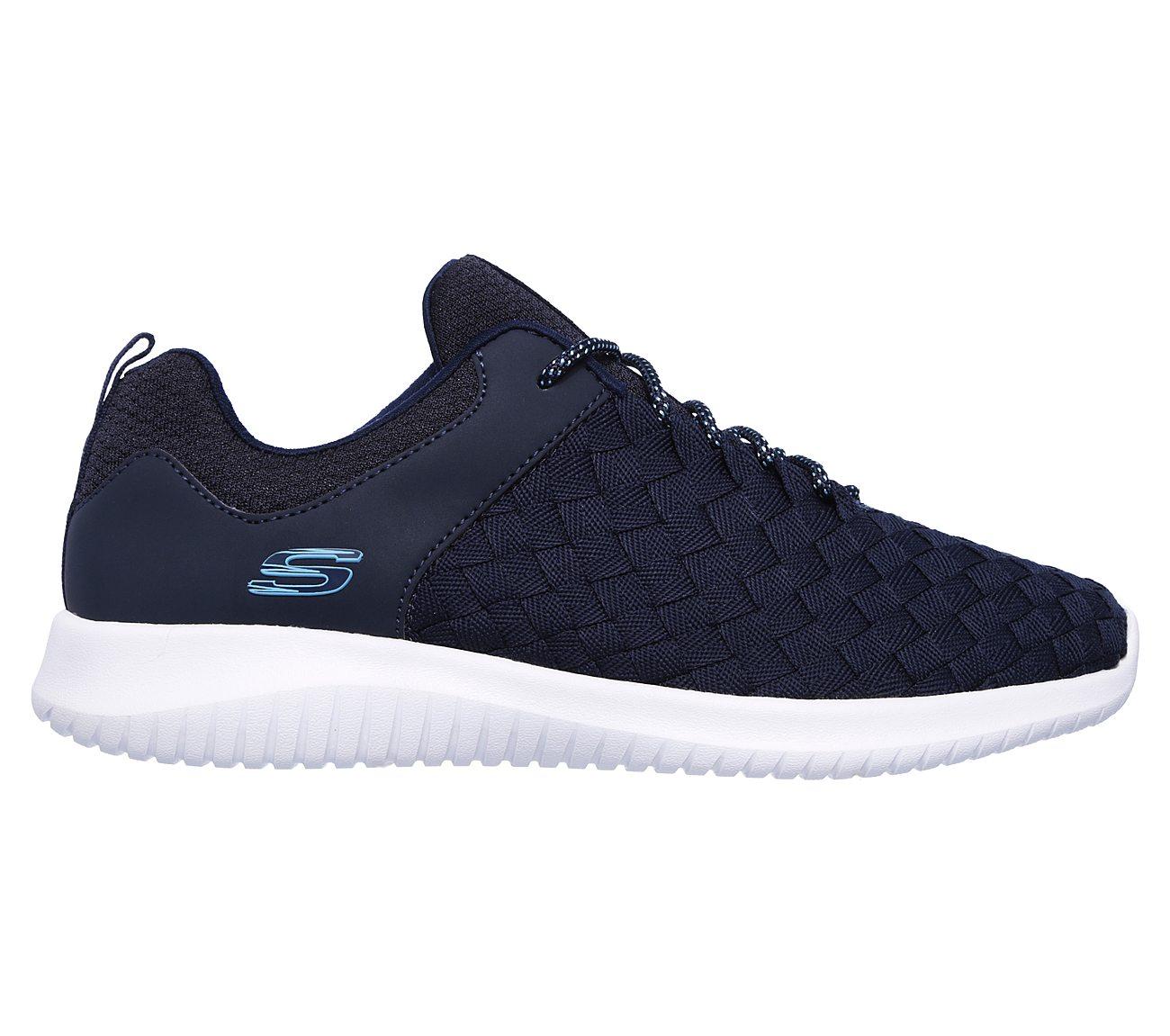 Skechers Ultra Flex Weave Away Sneaker (Women's) 9qyl1Ds