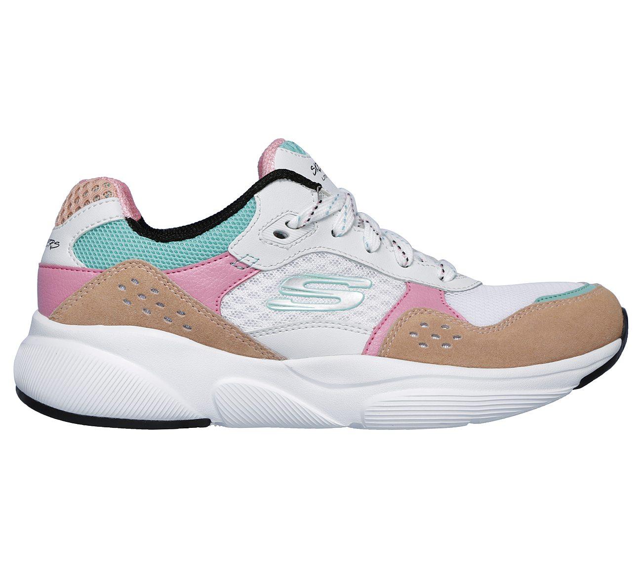 Skechers Chaussures De Sport Enfant Filles Lite: