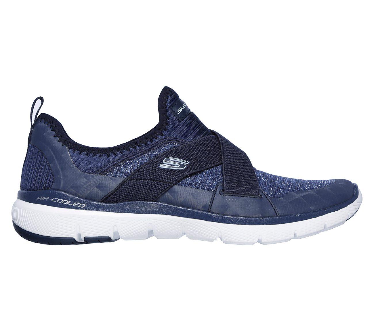 Flex Skechers Appel 3,0 Heures Meilleur Glissement Sur La Chaussure (femmes)