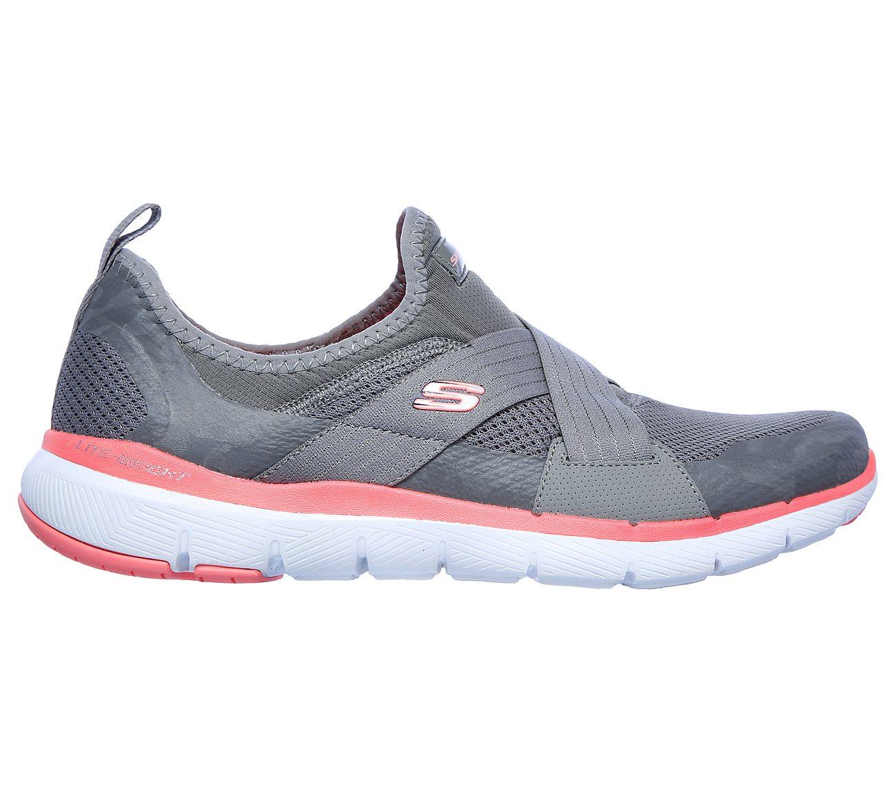 Details about Skechers Women's Flex Appeal 3.0 Goal Getter Slip On Sneaker