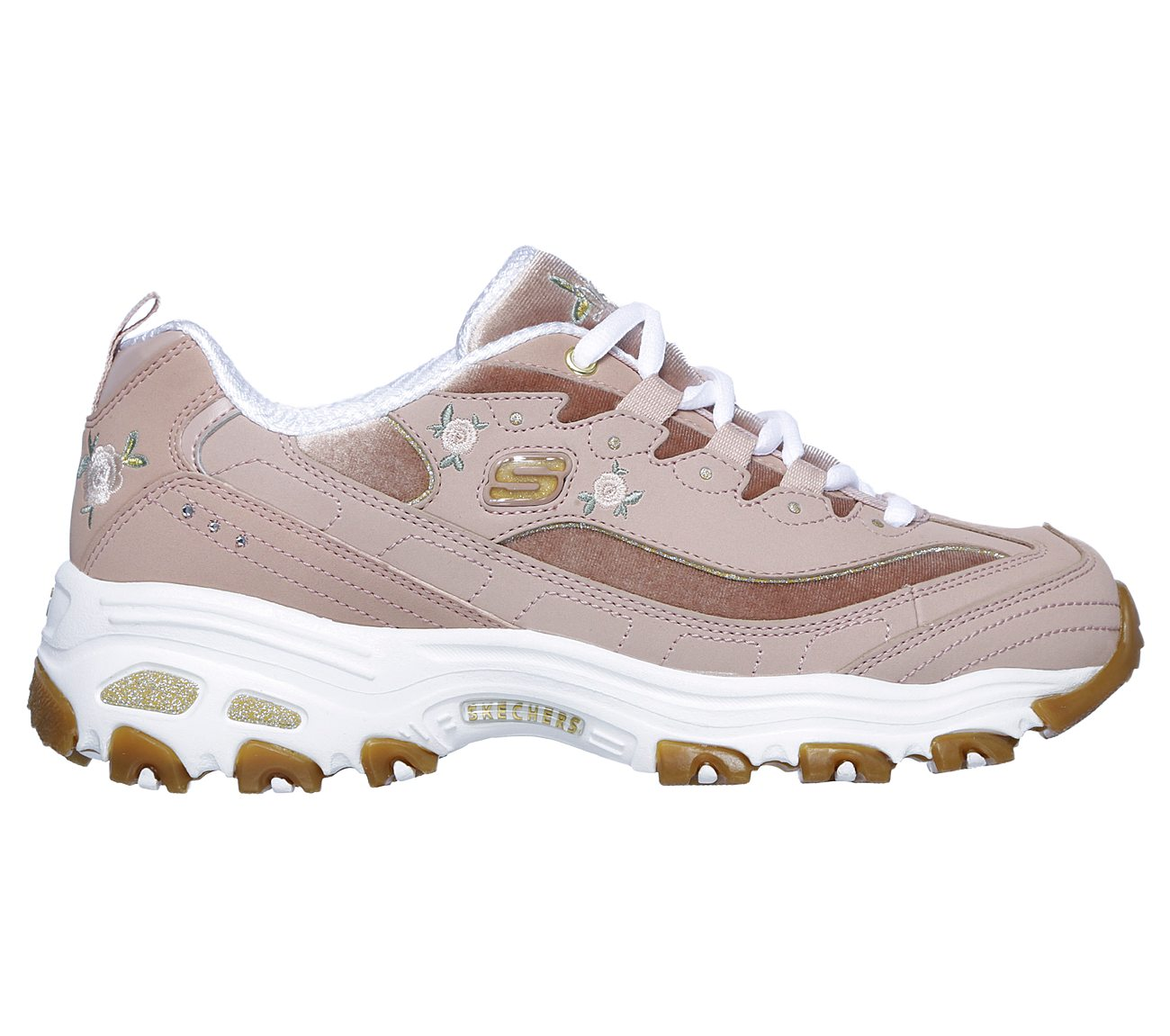 8f4925675fe9 Buy SKECHERS D Lites - Rose Blooms D Lites Shoes only  70.00