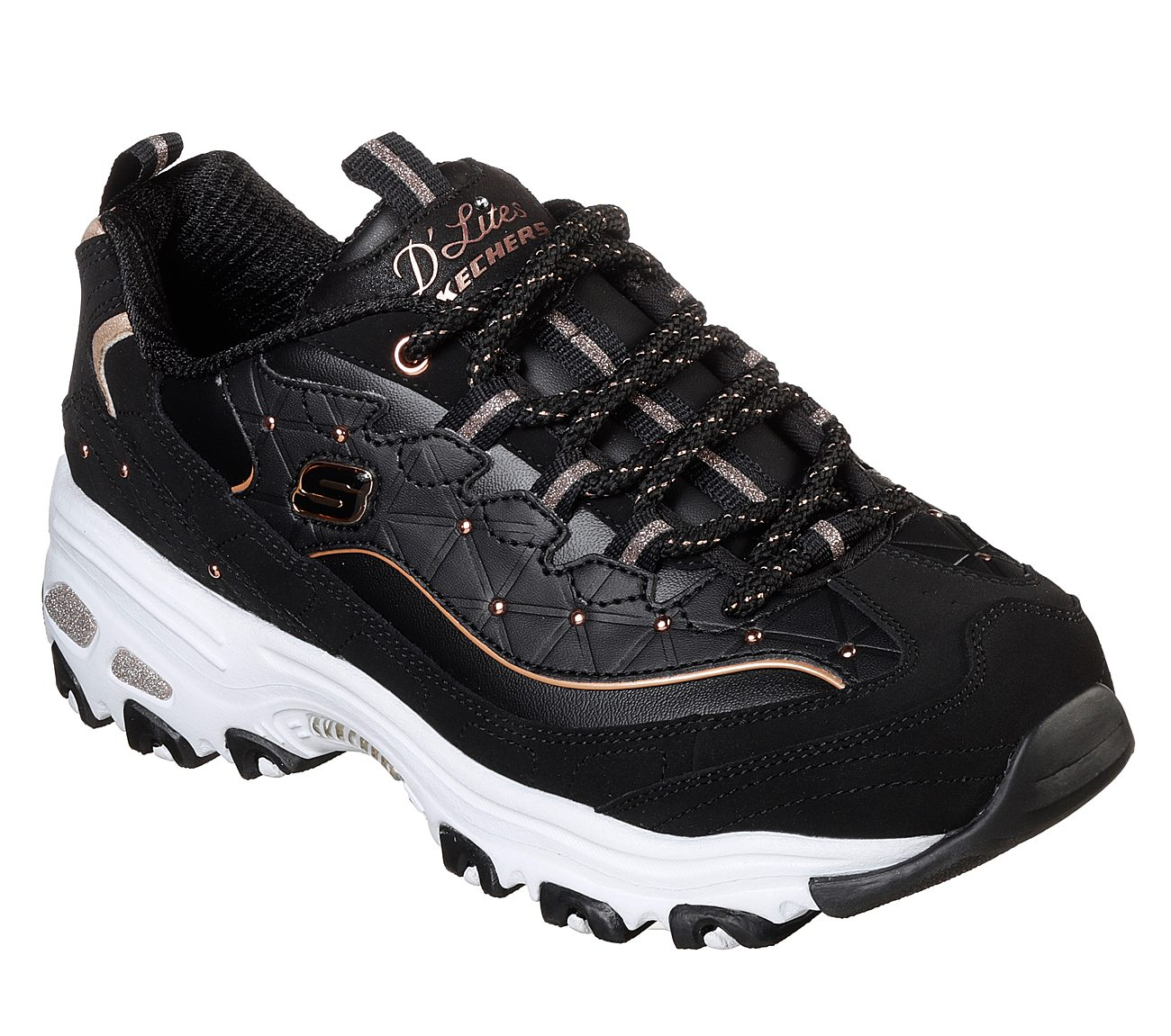 bf7ef1e0d95a Buy SKECHERS D Lites - Glamour Feels D Lites Shoes only  70.00