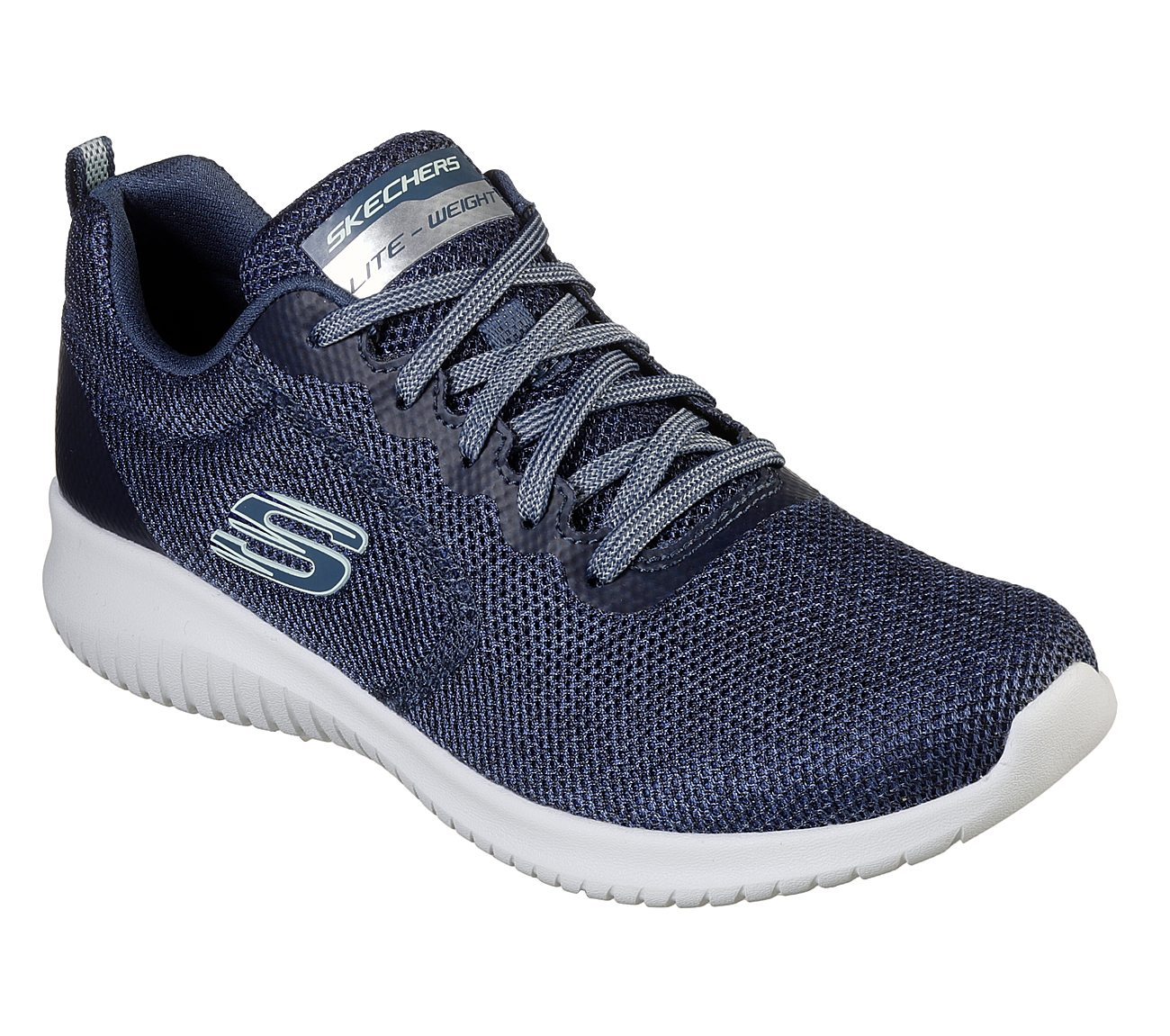 Skechers Ladies Ultra Flex Tie Trainer 13111
