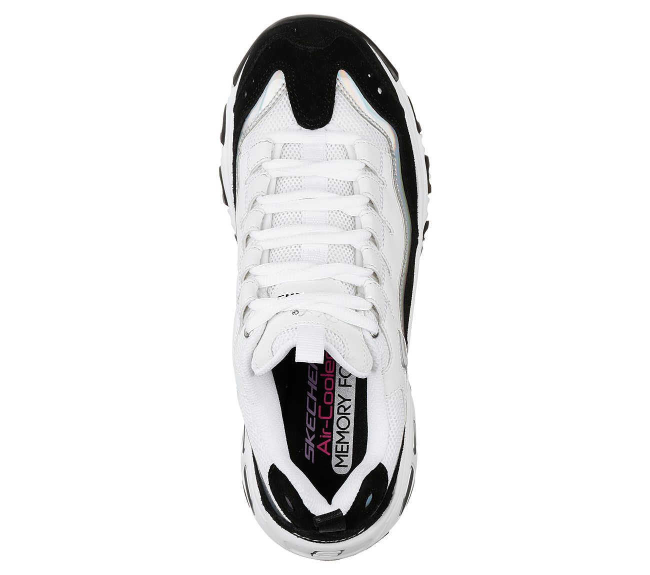 D'LITES Sneaker low whiteblacksilver