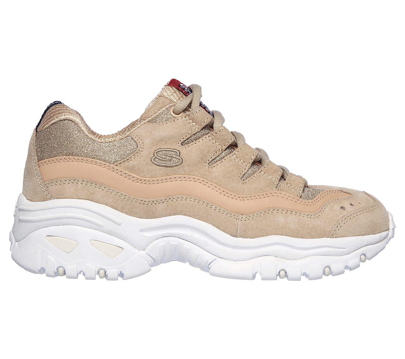 piel pasta recomendar  Buy SKECHERS Energy - Dazzle Glitter Sport Shoes