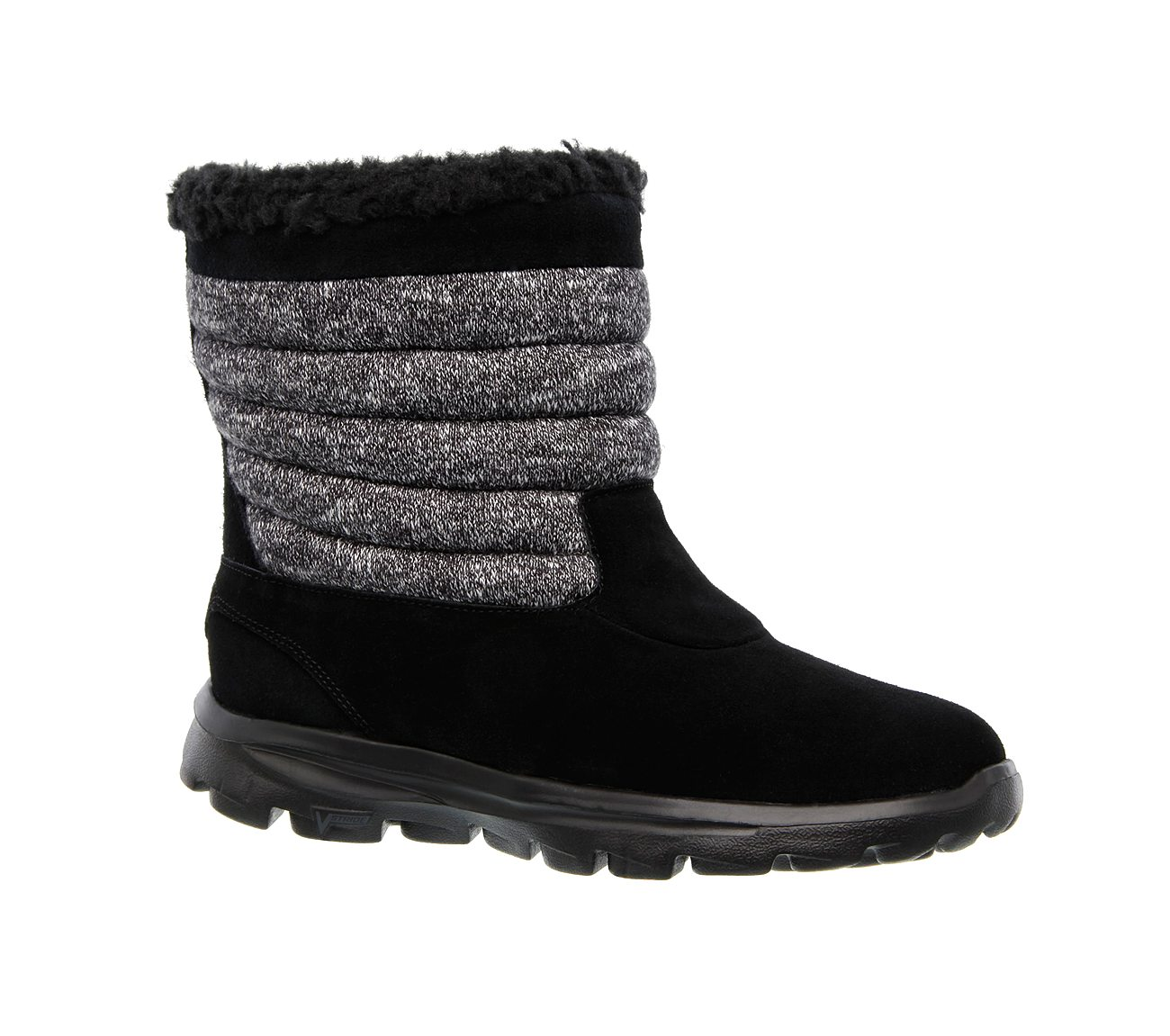 Skechers   GoWalk Move Afterglow Faux Fur Lined Mid Boot   Nordstrom Rack