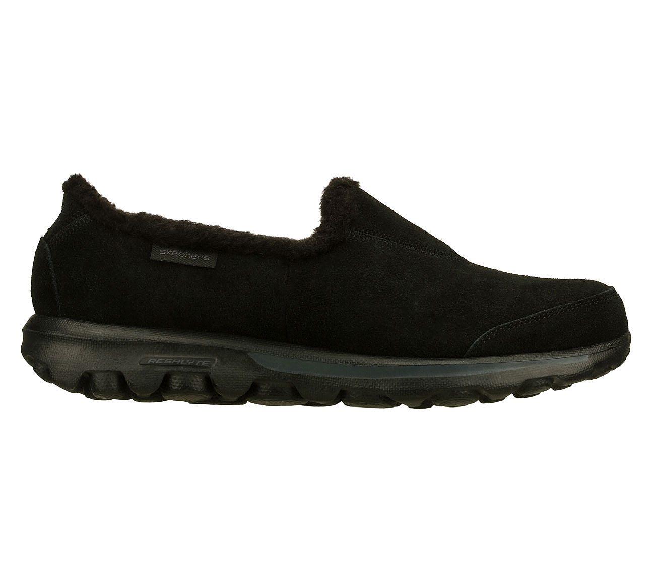 b1daaa00c520 Buy SKECHERS Skechers GOwalk - Fuzzy Skechers On the GO Shoes only ...