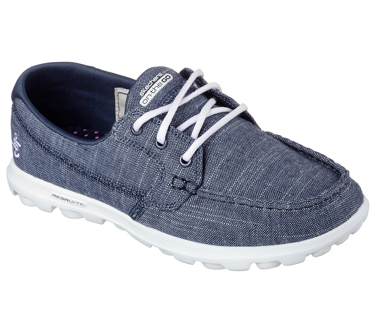 skechers on the go women's boat shoes