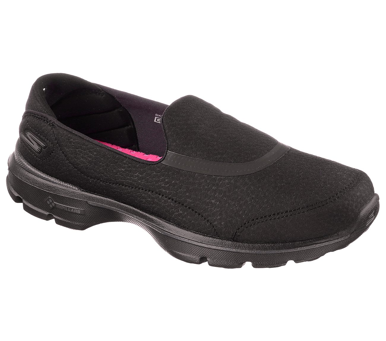 black skechers go walk